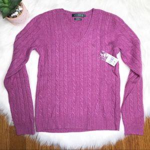 Ralph Lauren LRL Cashmere Sweater Size Small NWT